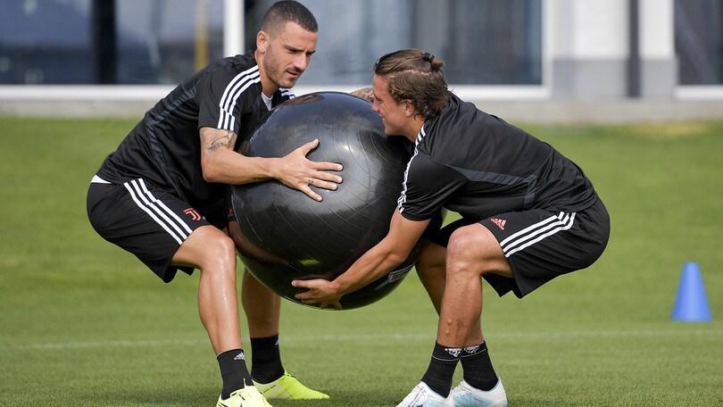 Juventus, per i bianconeri seduta di allenamento mattutina