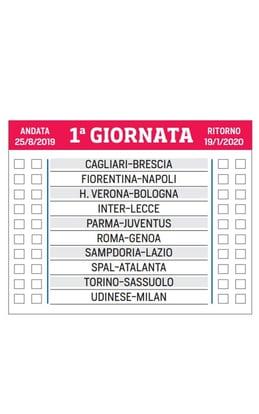Nuovo Calendario Serie A.Il Nuovo Calendario Della Serie A 2019 2020 Corriere Dello