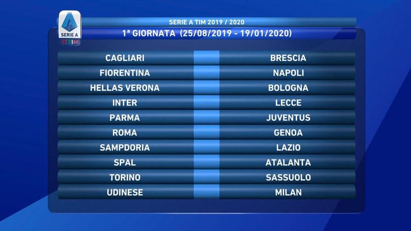 Lega Serie A Tim Calendario.Serie A Anticipi E Posticipi Derby Di Roma Il 1 Settembre