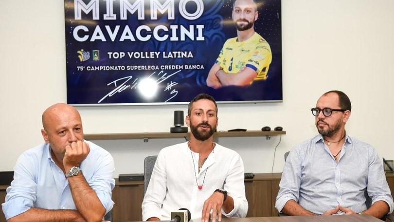 Latina ha presentato Domenico Cavaccini
