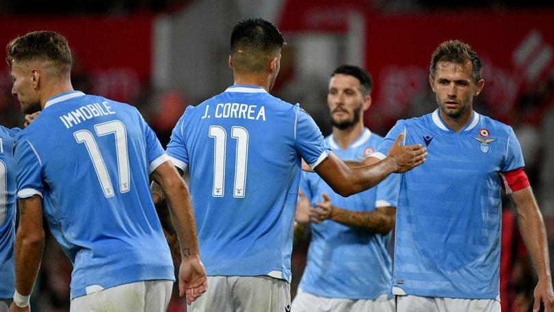Lazio scoppiettante: 4-3 sul Bournemouth con doppietta di Correa