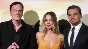 Tarantino, Di Caprio e Margot Robbie illuminano Roma