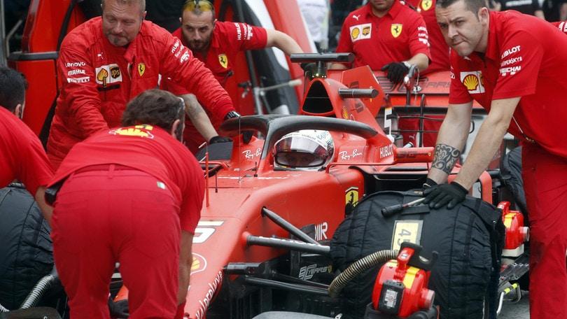 """Ferrari, Vettel: """"Possiamo migliorarci rispetto alle libere"""""""