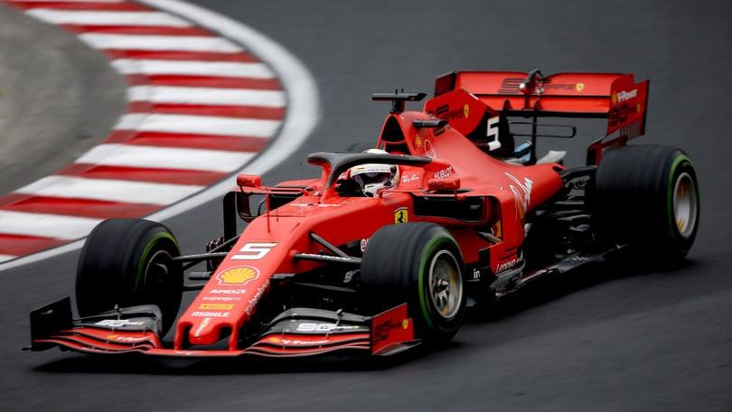 Gp Ungheria: Hamilton il più veloce nelle ultime libere, Vettel terzo