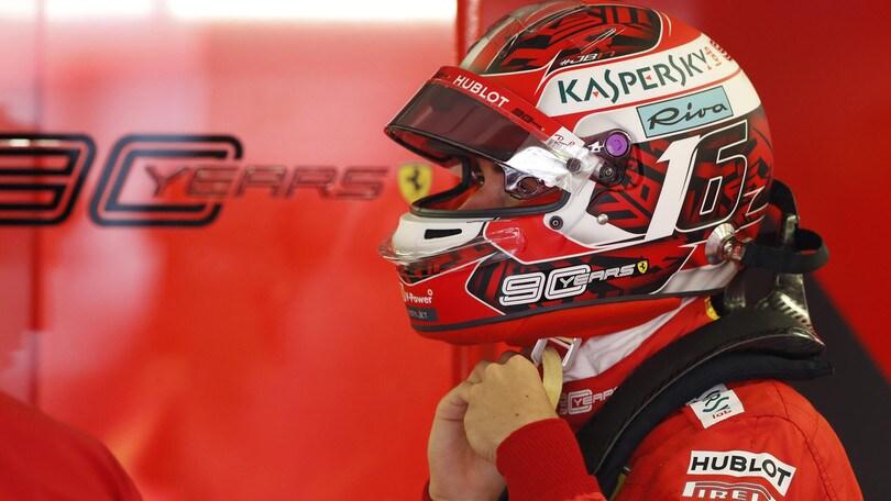 Ferrari, Leclerc quarto in qualifica: