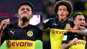 Borussia Dortmund, Alcacer e Sancho stendono il Bayern Monaco