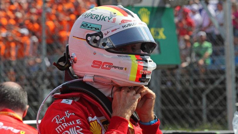 Vettel terzo in Ungheria: