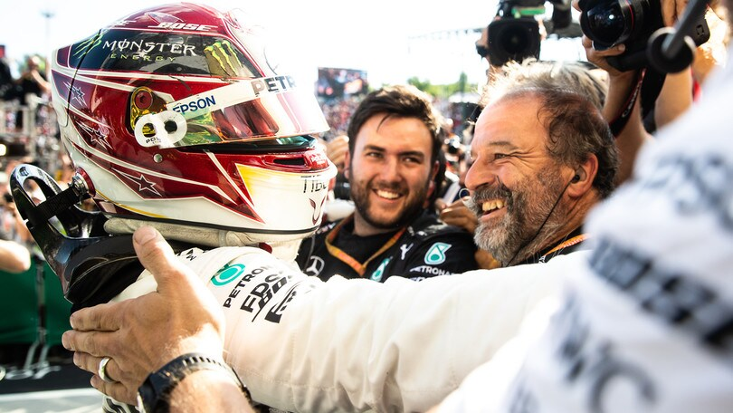 "Gp Ungheria, Hamilton: ""Chapeau al team, strategia vincente"""
