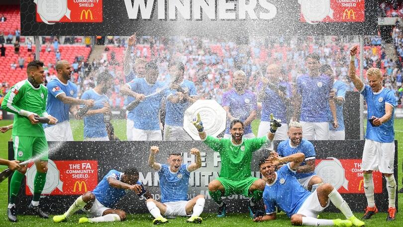 Il City vince il Community Shield. Liverpool ko ai rigori