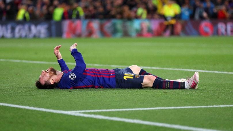 Barcellona, Messi si ferma: niente sfida al Napoli