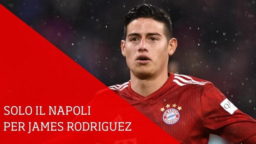 Resta il Napoli per James, saltato scambio con Pogba