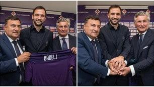 Badelj torna alla Fiorentina: la presentazione ufficiale