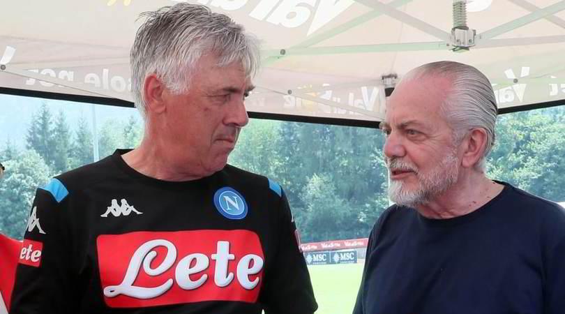 """Ancelotti e il mercato: """"Minaccio De Laurentiis"""""""