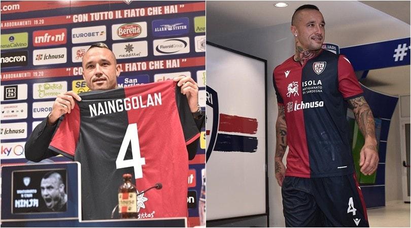 Nainggolan torna al Cagliari e si riprende la numero 4