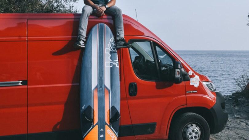 Il campione di windsurf Matteo Iachino è quinto a Fuerteventura