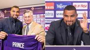 Fiorentina, ecco Boateng: le foto della presentazione