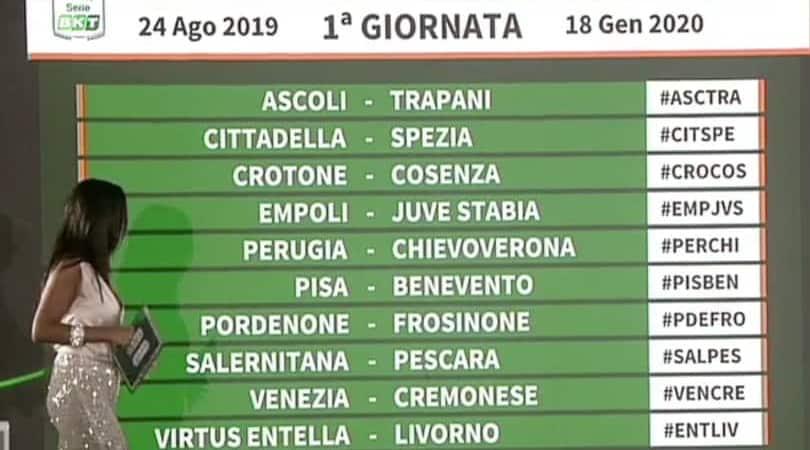 Calcio Serie B Calendario.Calendario Serie B Calcio Calendario 2020