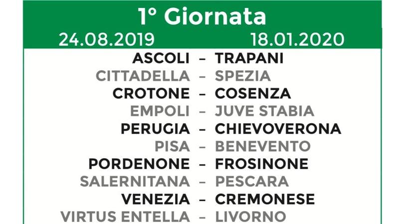 Calendario Serie A 1 Giornata.Calendario Serie B 2019 20 Tutte Le 38 Giornate Corriere