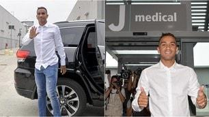Danilo al J Medical: prima giornata da giocatore della Juve