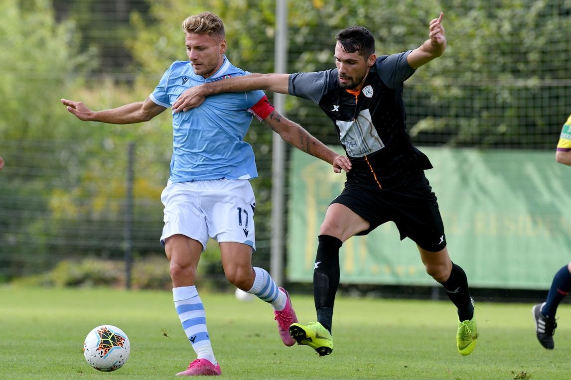 La Lazio cala la manita contro l'Al Shabab ma si ferma Milinkovic