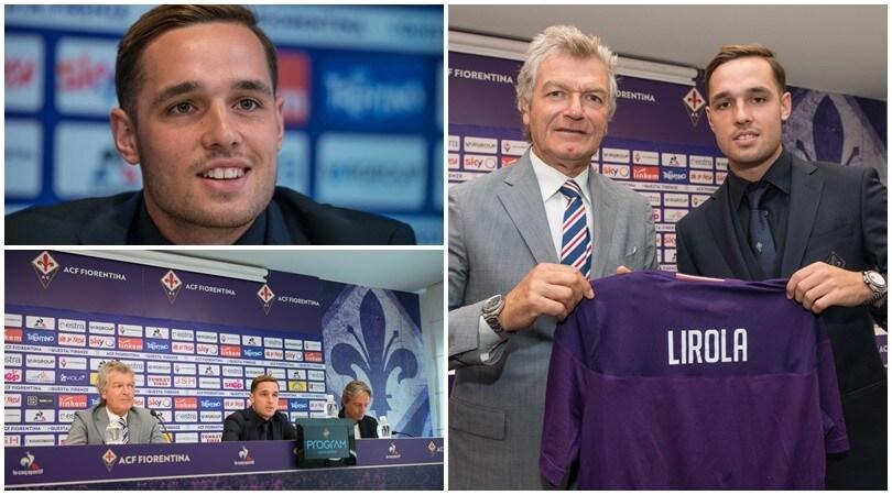 Fiorentina, Lirola presentato ufficialmente