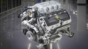 Mustang Shelby 500 GT, cambio e motore: LE FOTO