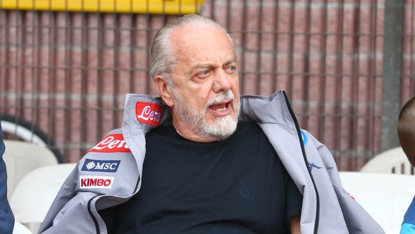 "Napoli, De Laurentiis: ""Koulibaly vale 250 milioni di euro"""