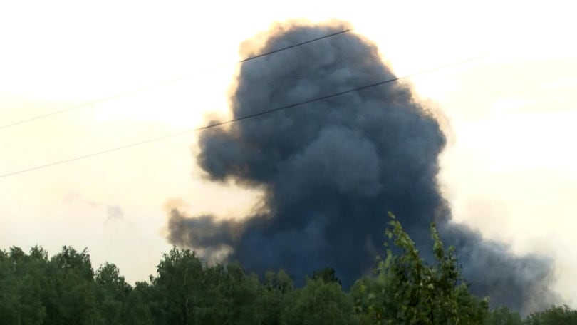 Russia, incendio in base militare: due morti