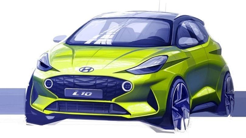 Hyundai, primo bozzetto della i10