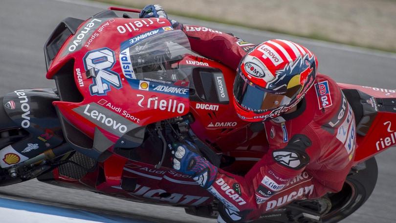 Gp Austria: Dovizioso parte forte, quinto Valentino Rossi