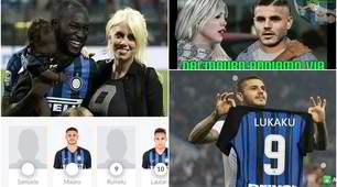Lukaku, Icardi e il 9 soffiato: l'ironia sui social