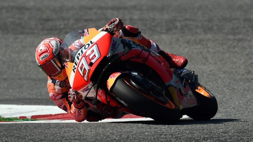 Gp, Austria: a Marquez le seconde libere, Rossi 11°
