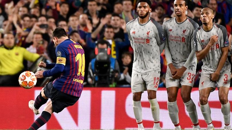 A Messi il premio Uefa del gol più bello 2018-19: Ronaldo battuto