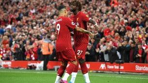 Liverpool, che spettacolo: 4-1 alla prima di Premier!