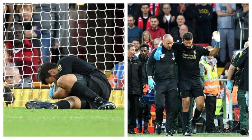 Liverpool, l'infortunio di Alisson rovina il debutto in Premier