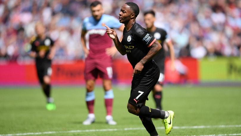 Manchester City, subito cinquina nella prima di Premier. Tottenham, vittoria nel finale