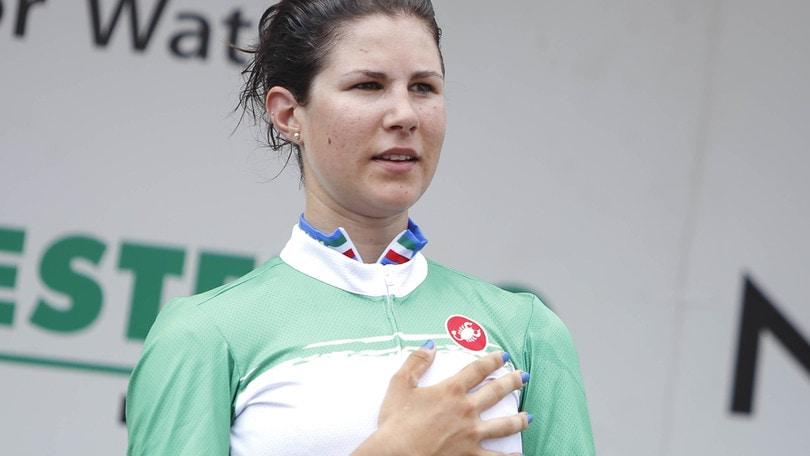 Ciclismo, Europei: Cecchini argento nella prova in linea donne elite