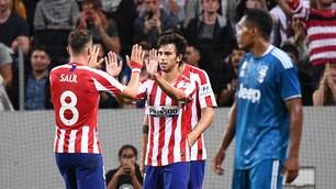 Le magie di Joao Felix stendono la Juventus