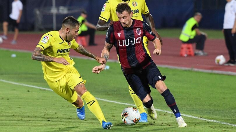 Bologna-Villarreal 3-4: gara pirotecnica, ma vincono gli spagnoli