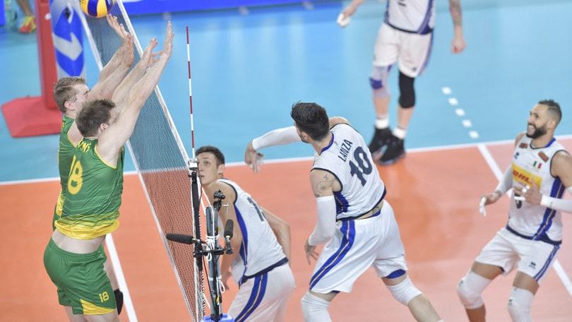 Qualificazione Olimpica: Italia che paura ! ma l'Australia è domata