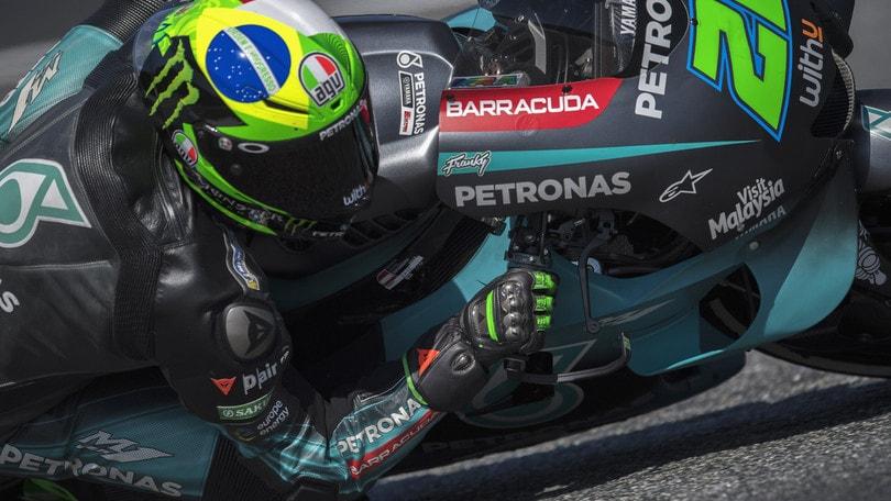 Gp Austria: Morbidelli il più veloce nel warm up, Rossi secondo