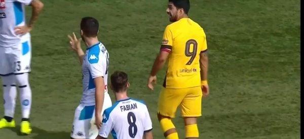 """Manolas a Suarez: """"Ne hai presi tre, a casa"""""""