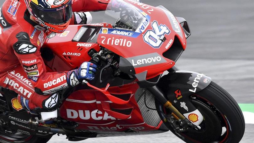 Gp Austria: Dovizioso trionfa davanti a Marquez, Valentino Rossi 4°