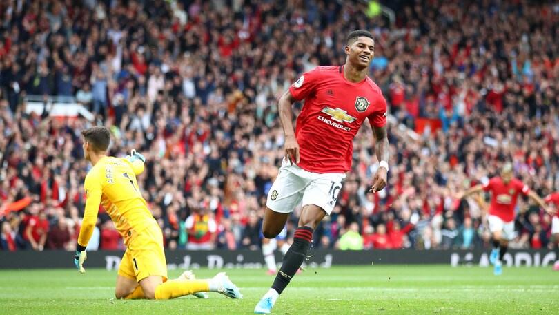 Il Manchester United cala il poker: 4-0 al Chelsea