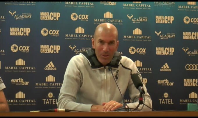 "Zidane: ""Bale e James sono del Real"""