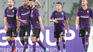 Fiorentina show, poker all'ex Terim