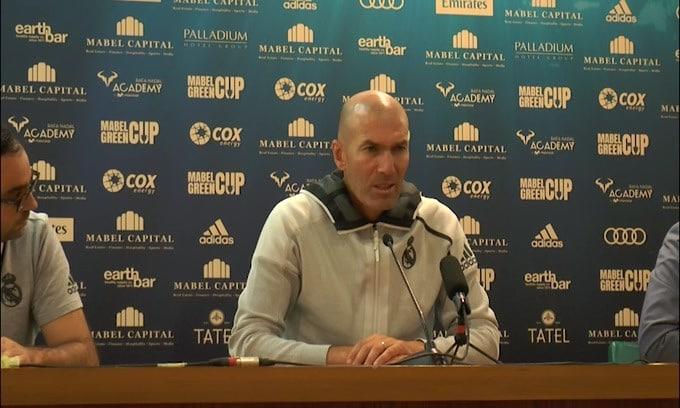 "Zidane: ""Mercato? Questa la nostra rosa"""