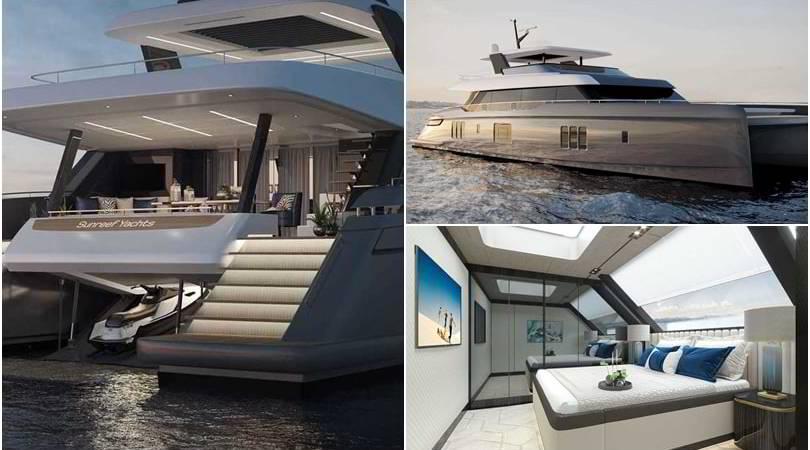Lo yacht extralusso di Nadal: ecco il nuovo Sunreef 80 Power