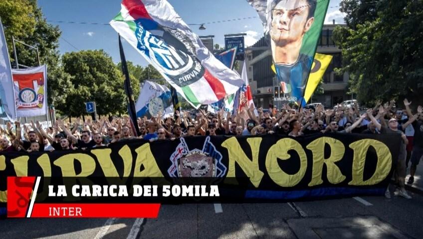 Inter, in 50mila per la prima con il Lecce