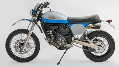 Ducati, la Special Scrambler disegnata da Lussiati: le foto
